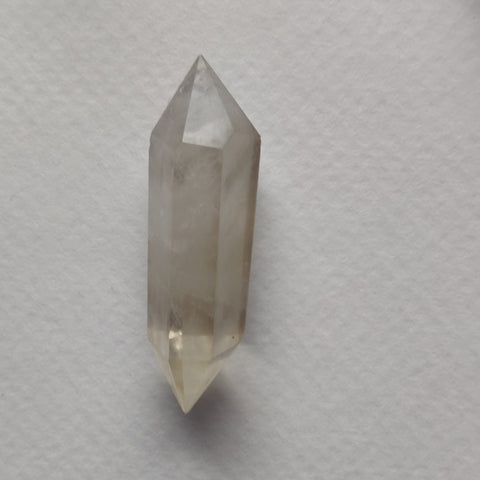 Double Terminated Citrine Point (#5)