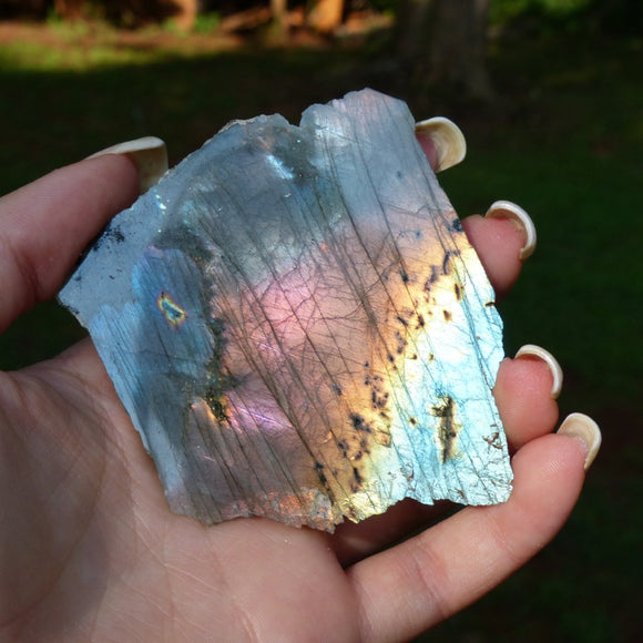 Rainbow Labradorite Slab from Simply Affinity