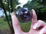 Fluorite Bowl, Purple Fluorite Bowl