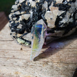 Opal Aura Quartz Point, Angel Aura Quartz Point (#6)