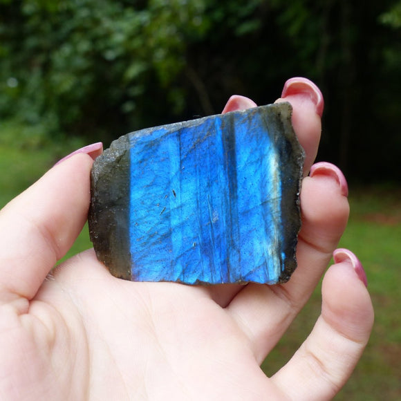 Blue labradorite slab from simply affinity