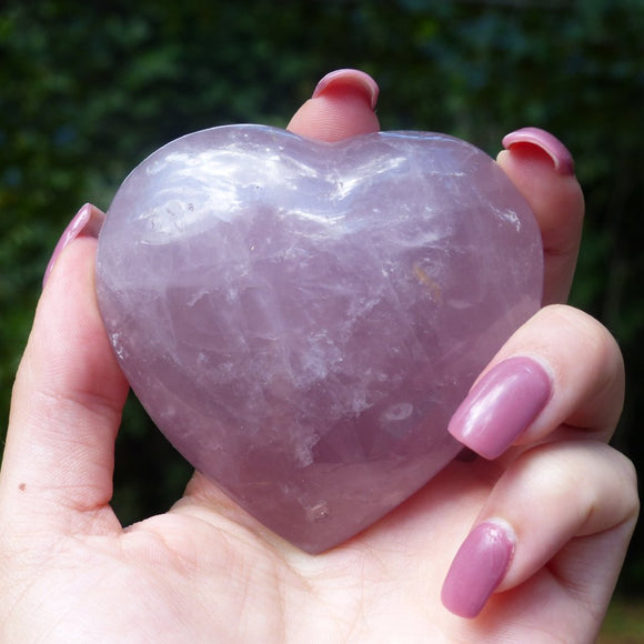 Rose Quartz Heart from Simply Affinity