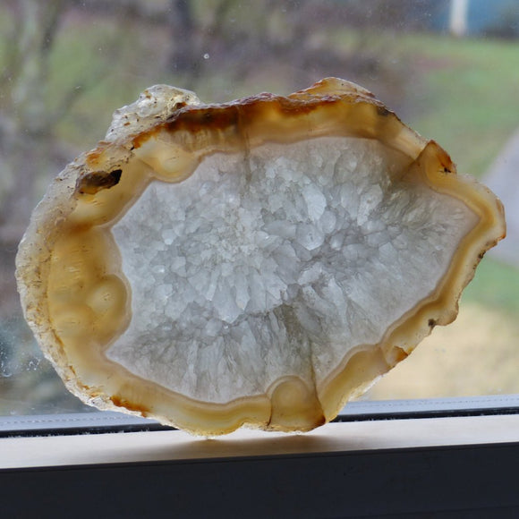 Agate Slice from Madagascar