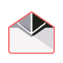 graphic icon of an envelope