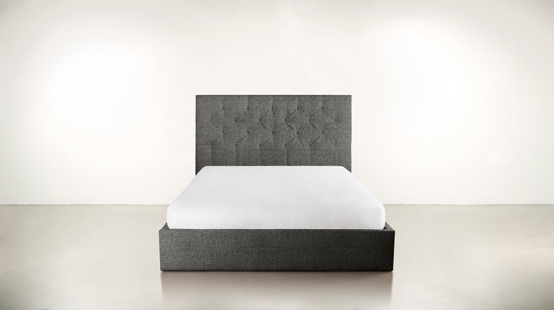 The Idealist Eastern King Bed Eastern King Boucle Knit Ash Whom. Home