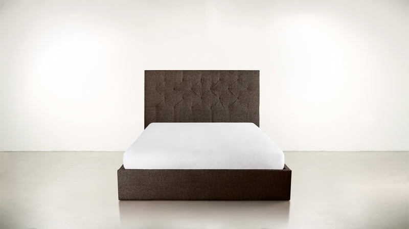 The Idealist Eastern King Bed Eastern King Boucle Knit Chocolate Whom. Home