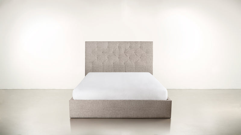 The Idealist Eastern King Bed Eastern King Boucle Knit Platinum Whom. Home