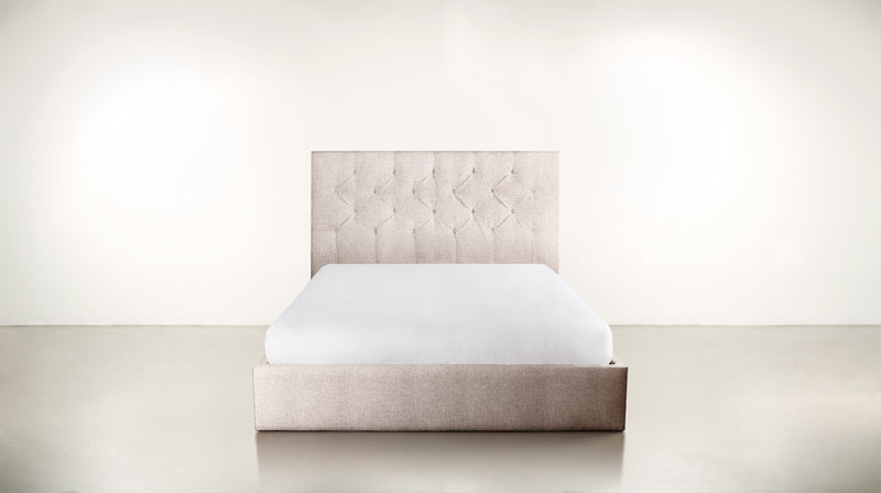 The Idealist Eastern King Bed Eastern King Classic Linen Weave Almond Whom. Home