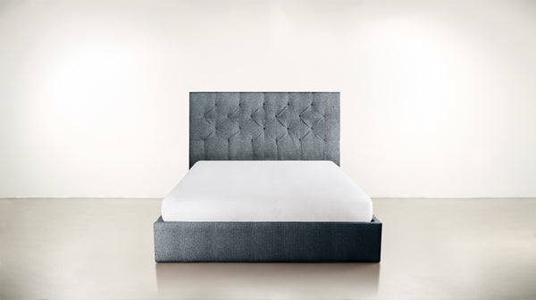 The Idealist Bed Bed Classic Linen Weave Navy Whom. Home