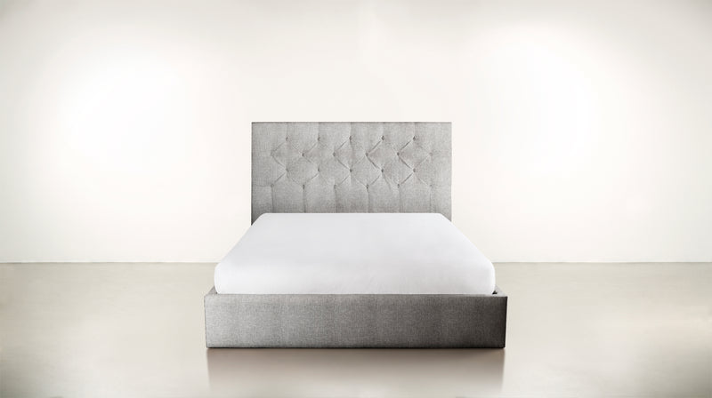 The Idealist Eastern King Bed Eastern King Classic Linen Weave Smoke Whom. Home