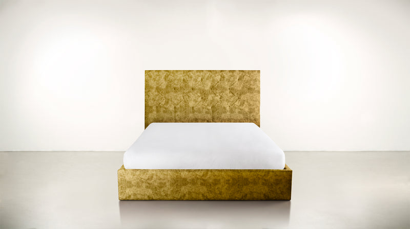 The Idealist Eastern King Bed Eastern King Crushed Micro-Chenille Dijon Whom. Home