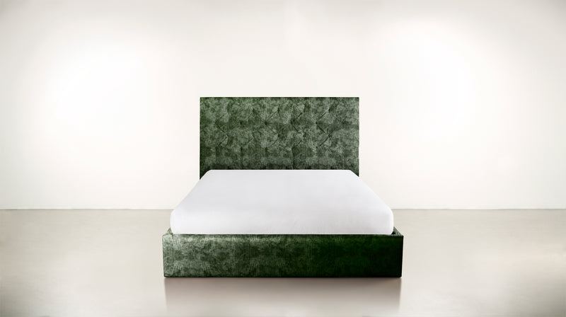 The Idealist Eastern King Bed Eastern King Crushed Micro-Chenille Forest Whom. Home