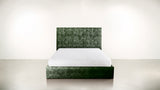 The Idealist Queen Bed Queen Bed Crushed Micro-Chenille Forest Whom. Home