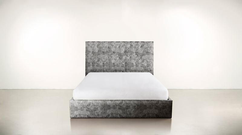 The Idealist Eastern King Bed Eastern King Crushed Micro-Chenille Granite Whom. Home