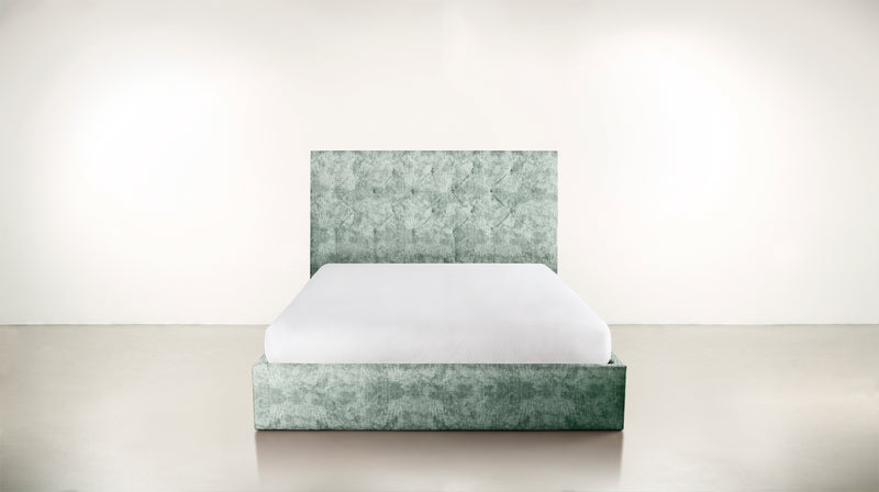 The Idealist Eastern King Bed Eastern King Crushed Micro-Chenille Mint Whom. Home