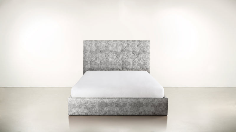 The Idealist Eastern King Bed Eastern King Crushed Micro-Chenille Stone Whom. Home