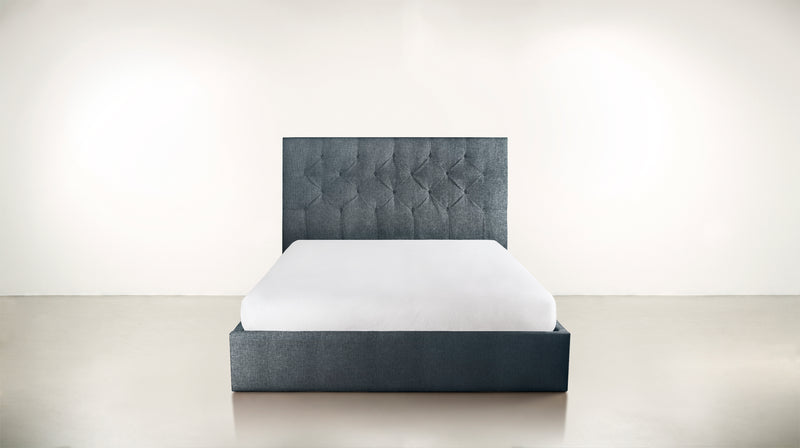 The Idealist Eastern King Bed Eastern King Lightweight Micro-Chenille French Blue Whom. Home