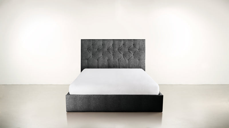 The Idealist Eastern King Bed Eastern King Soft Heathered Weave Charcoal Whom. Home