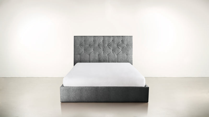 The Idealist Eastern King Bed Eastern King Soft Heathered Weave Platinum Whom. Home