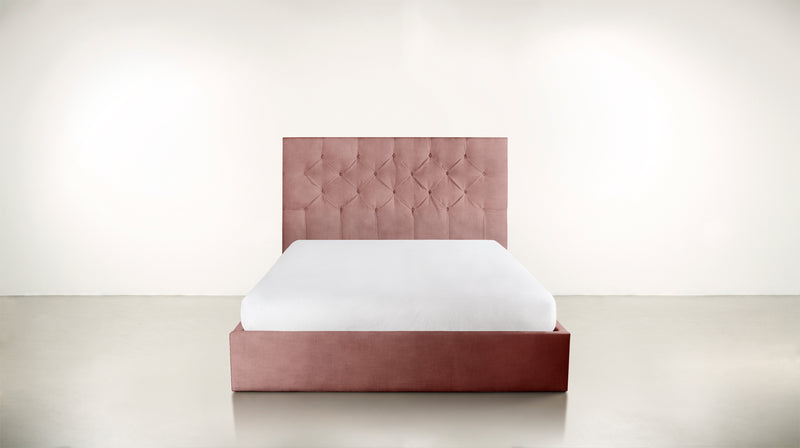The Idealist Eastern King Bed Eastern King Velvet Knit Blush Whom. Home