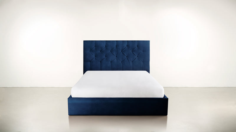 The Idealist Eastern King Bed Eastern King Velvet Knit Cobalt Whom. Home
