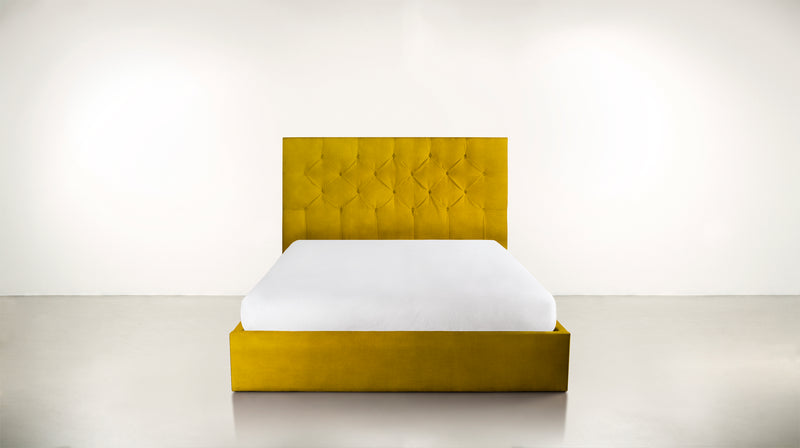 The Idealist Eastern King Bed Eastern King Velvet Knit Marigold Whom. Home