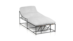 The Initiator Chaise | Silver Legs Chaise  Whom. Home