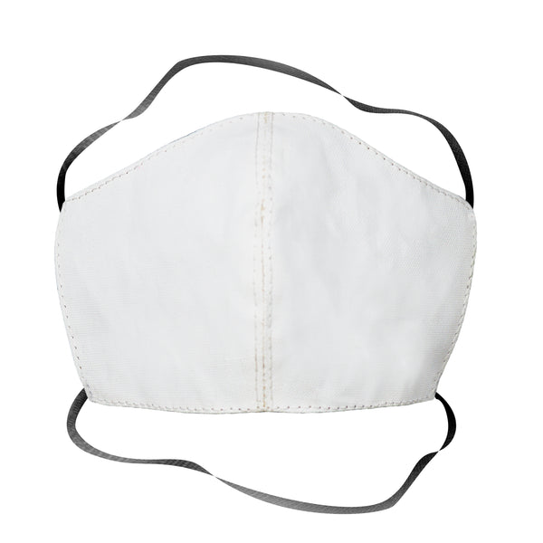 100% Cotton Cloth Mask White - Two Layer Masks  Whom. Home