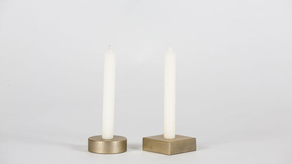 Mismatched Candle Holders Candle holder  Whom. Home