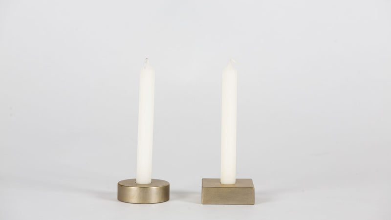 Paired Candle Holders Candle holder  Whom. Home