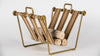 Strapped Firewood Holder Firewood Holder  Whom. Home