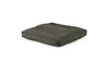 Square Pet Bed Pet Bed Cross Linen Weave Charcoal / Large Whom. Home
