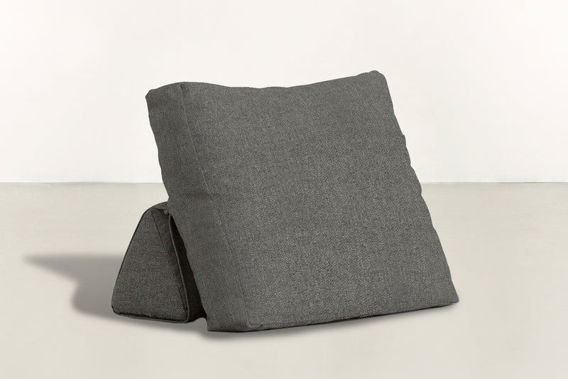 The Millennial Pillow Pillow Boucle Knit Charcoal Whom. Home