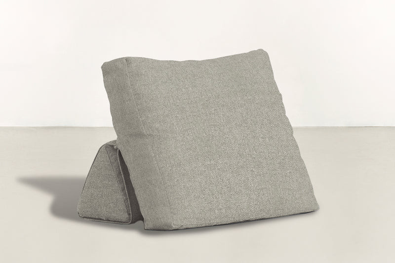 The Millennial Pillow Pillow Boucle Knit Platinum Whom. Home