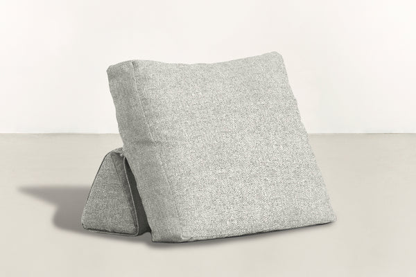 The Millennial Pillow Pillow Boucle Knit Snow Whom. Home