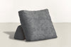 The Millennial Pillow Pillow Crushed Micro-Chenille Granite Whom. Home