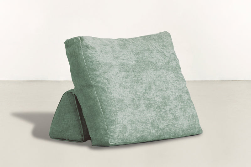 The Millennial Pillow Pillow Crushed Micro-Chenille Mint Whom. Home
