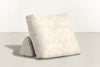 The Millennial Pillow Pillow Crushed Micro-Chenille Snow Whom. Home