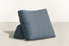 The Millennial Pillow Pillow Lightweight Micro-Chenille French Blue Whom. Home