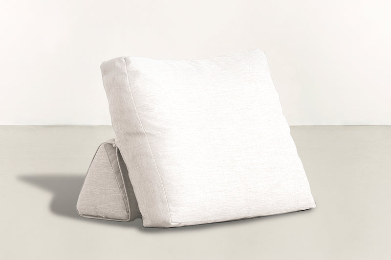 The Millennial Pillow Pillow Lightweight Micro-Chenille Snow Whom. Home