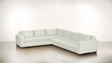 The Guardian L Sectional 2-Piece Set Fine Linen Weave Cotton / Hazel Whom. Home