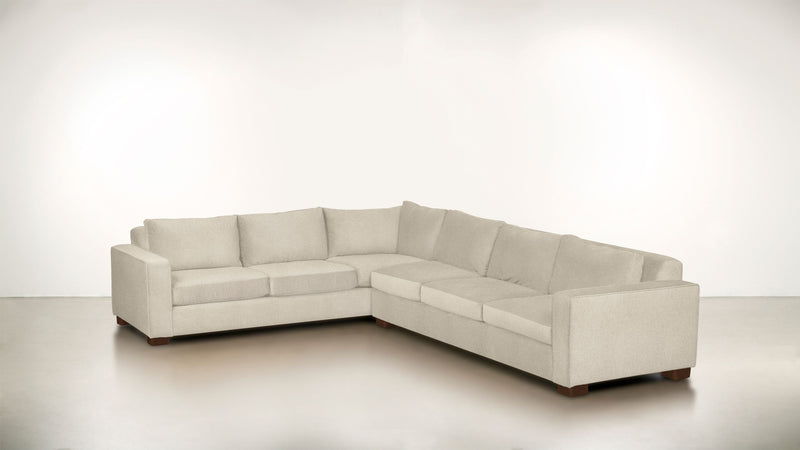 The Guardian L Sectional 2-Piece Set Lightweight Micro-Chenille Sand / Hazel Whom. Home