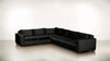 The Fifth Wheel L Sectional Velvet Knit Onyx / Hazel Whom. Home