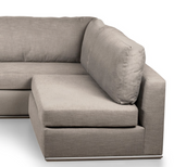 The Innovator Right-Facing Sectional | Brass Legs R Modular Sectional  Whom. Home