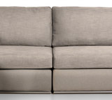 The Innovator Full Sectional Center | Silver Legs Modular Sectional  Whom. Home