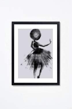 Couture II Wall Art Wall Art Underglass Black Frame / 17.25'' x 21.25'' Whom. Home