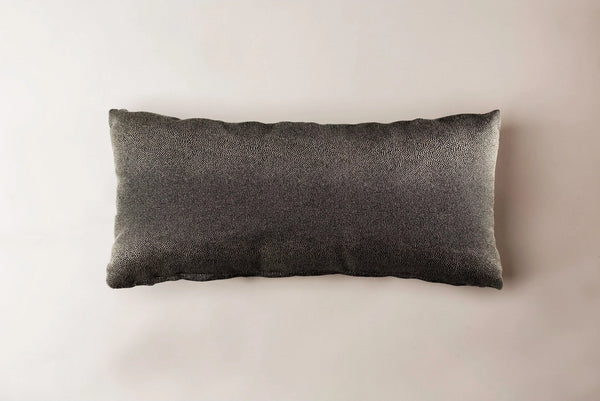 "Black Whale Pillow Pillow 23""x11"" / Whale Whom. Home"