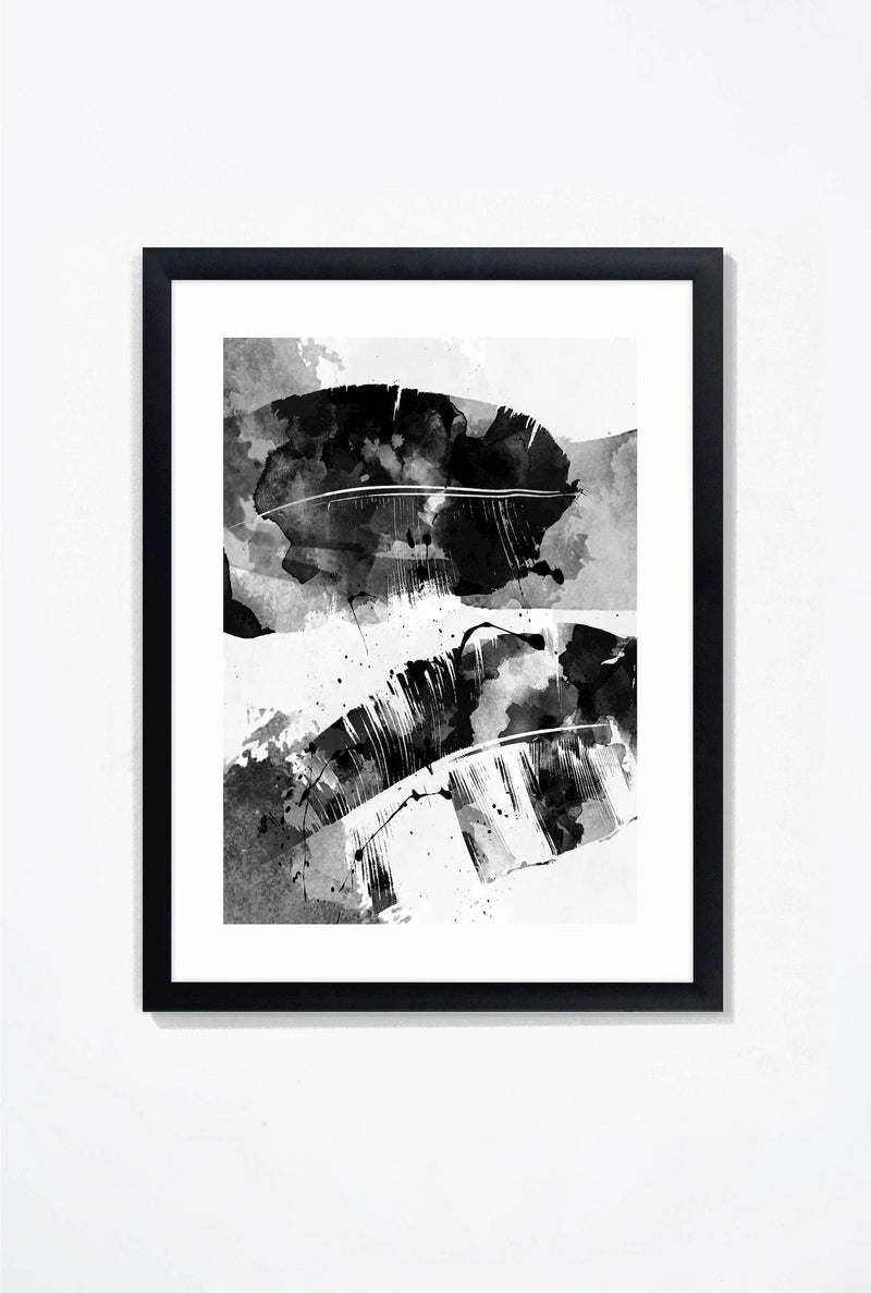Double Exposure Wall Art Wall Art Black / 16x20 Whom. Home