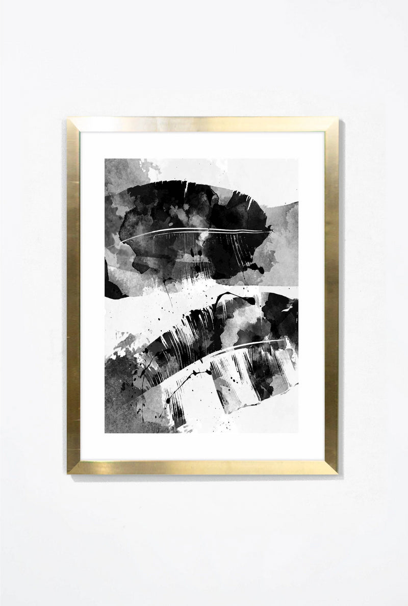 Double Exposure Wall Art Wall Art Gold / 16x20 Whom. Home