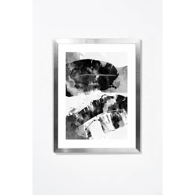Double Exposure Wall Art Wall Art Underglass Silver Frame / 17.25 '' x  21.25'' Whom. Home